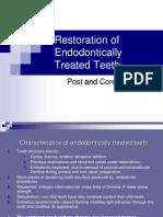 Endodontically Treated