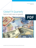 Barclays Global FX Quarterly Fed on Hold Eyes on Growth