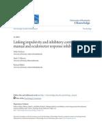 Linking Impulsivity and Inhibitory Control Using Manual and Oculo