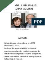 Exposición Teologo Samuel Escobar