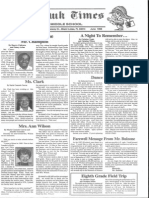 Tomahawk Times - Miami Lakes Middle School Newspaper