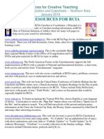 RCT Web Resources for RCIA Jan 2010