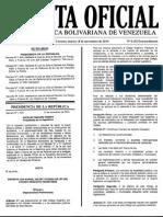 Gaceta Oficial Con Reformas de Leyes Del IVA, IsLR, Código Tributario, Turismo e Inversiones Extranjeras
