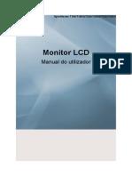 Manual SyncMaster T190 Samsung PT-BR