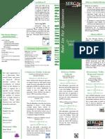 Model Sites Brochure