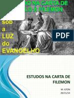 Estudos Na Carta de Filemon