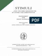 Saxer - Cyrill Von Jerusalem Und Die Heilige Schrift