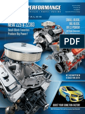 2014 Chevrolet Performance Catalog | Automotive Industry