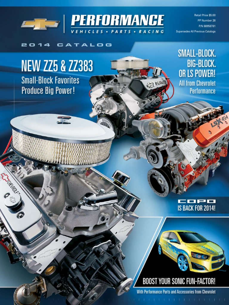 2014 chevrolet performance catalog automotive industry motor vehicle fandeluxe Images