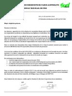 Preavis de grève unitaire CGT SUD-RAIL du 4/12/14 au 7/12/14 ECT DE PAZ