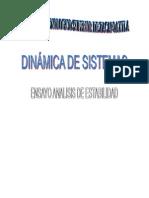 Análisis de Estabilidad (Dinámica de sistemas)