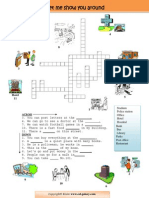 Places Around - Crossword Puzzle