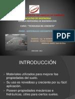 3. Exposiciòn Materiales Geosintéticos