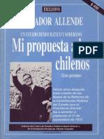 Un Estado Democrático y Soberano. Mi Propuesta a Los Chilenos