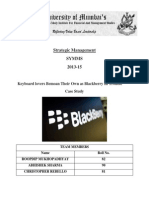 Blackberry Case Study