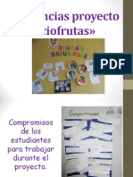 Evidencias proyecto «Fracciofrutas»