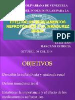 Efectos de los medicamentos en patologias renales-REDVENEO