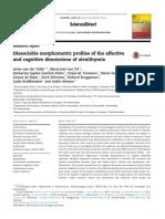 Componentes Afectivos y Cognitivos de La Alexitimia