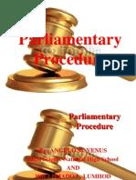 parliamentaryprocedure-120314215849-phpapp01