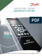 Danfoss Automation Drive FC-302 Selection