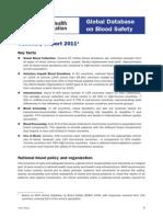GDBS Summary Report 2011
