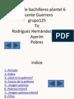 Pobresa 9 diapositivas