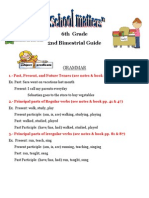 6th Grade 2nd Bim Guide