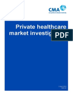 CMA Private Healthcare Report
