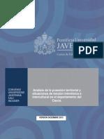 Analisis Posesion Territorial - Tensiones Interetnicas e Interculturales en El Cauca 1