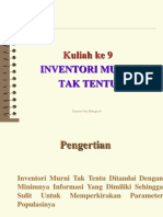 Kuliah 9 Inventory Tak Tentu