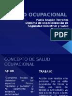 Salud Ocupacional Curso Virtual