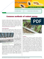 Comman Methods of Rodents Survey