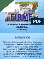 Plan de Gobierno Regional Moquegua