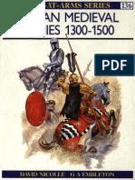 [Men-At-Arms Nº136] - Italian Medieval Armies 1300 - 1500