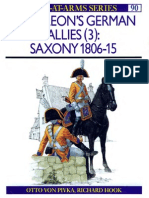 Osprey .Men at Arms.#090. .Napoleon's.german.allies.(3).Saxony.1806 15.(1979)