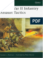Osprey - Elite 160 - World War II Infantry Assault Tactics