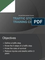 traffic stop training cbt