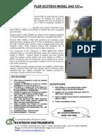 Mini PM 2.5 Sampler AAS 127Mini Literature
