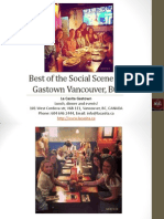 Best of the Social Scene in Gastown Vancouver BC