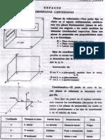 Coordenadas y Planos de Referencia Doble Proyeccion Ortogonal