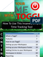 Track Your Time With Toggl