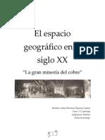 El Espacio Geográfico en El Siglo XX
