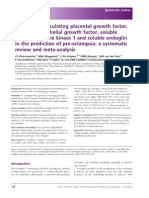 Accuracy of Circulating Placental Growth Factor, Vascular Endothelial Growth Factor, A Systematic Review and Meta-Analysis