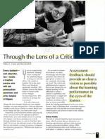 Through the Lens of a Critical Friend