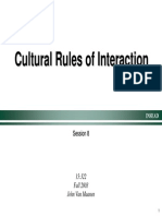 Cultural Rules