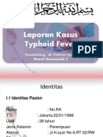 Lapkas Demam Typhoid