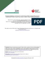 Prognostic Significanc of Serum Uric Acid PE Hypertension-2011