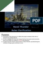 Naval Thunder FAQ v1