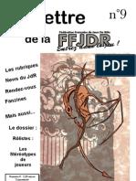 La Lettre de la FFJdR n.9 (nouvelle formule) - juillet 2003