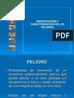 IDENTIFICACION Y CARACTERIZACION DE LOS  PELIGROS   En El PERU
